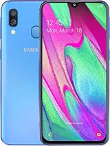 Характеристики Samsung Galaxy A40